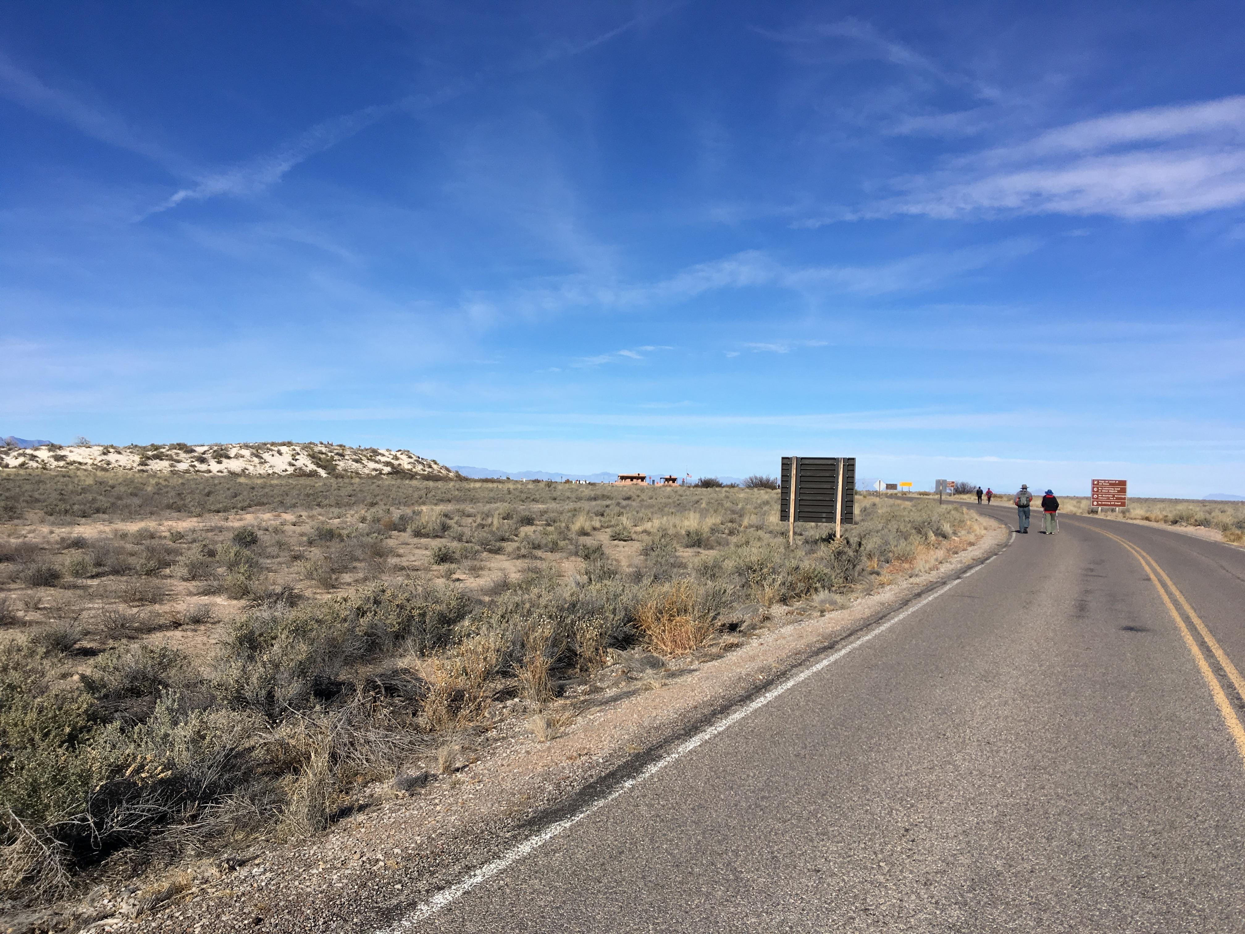 ニューメキシコ旅その1~ホワイトサンズ国立モニュメント