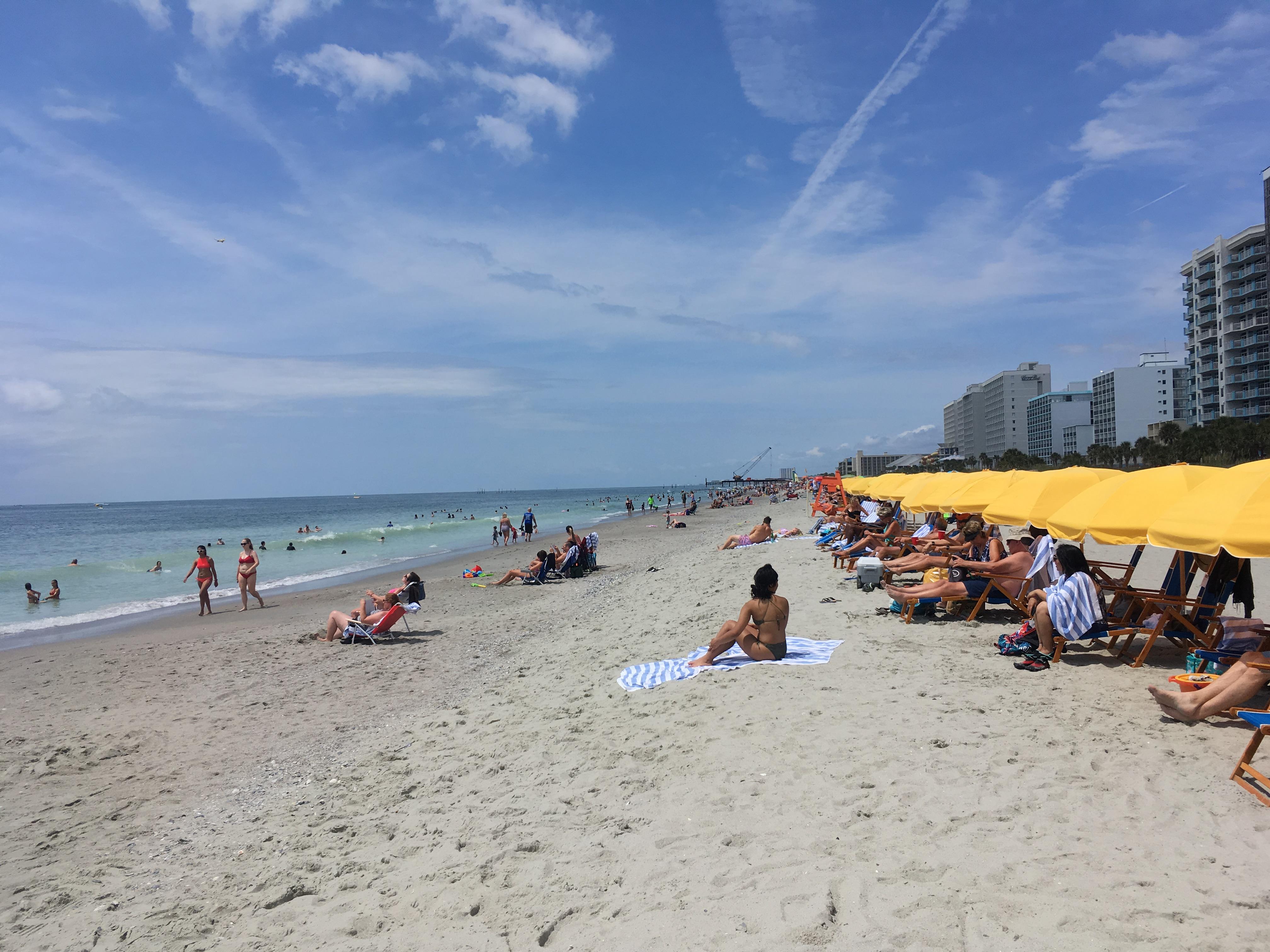シーフードも美味!マートルビーチで海開き【サウスカロライナ】