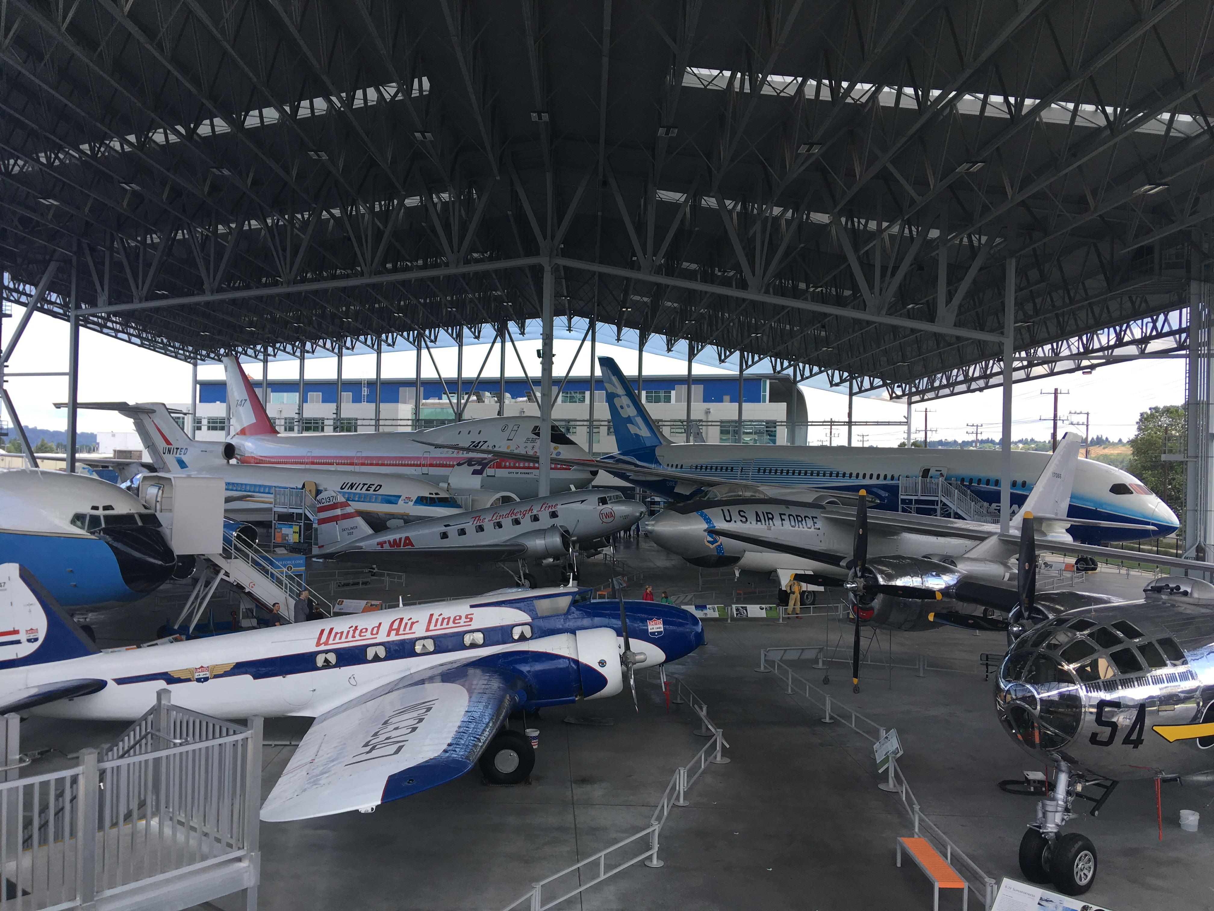 ボーイングのお膝元!シアトルの航空博物館(The Museum of Flight)
