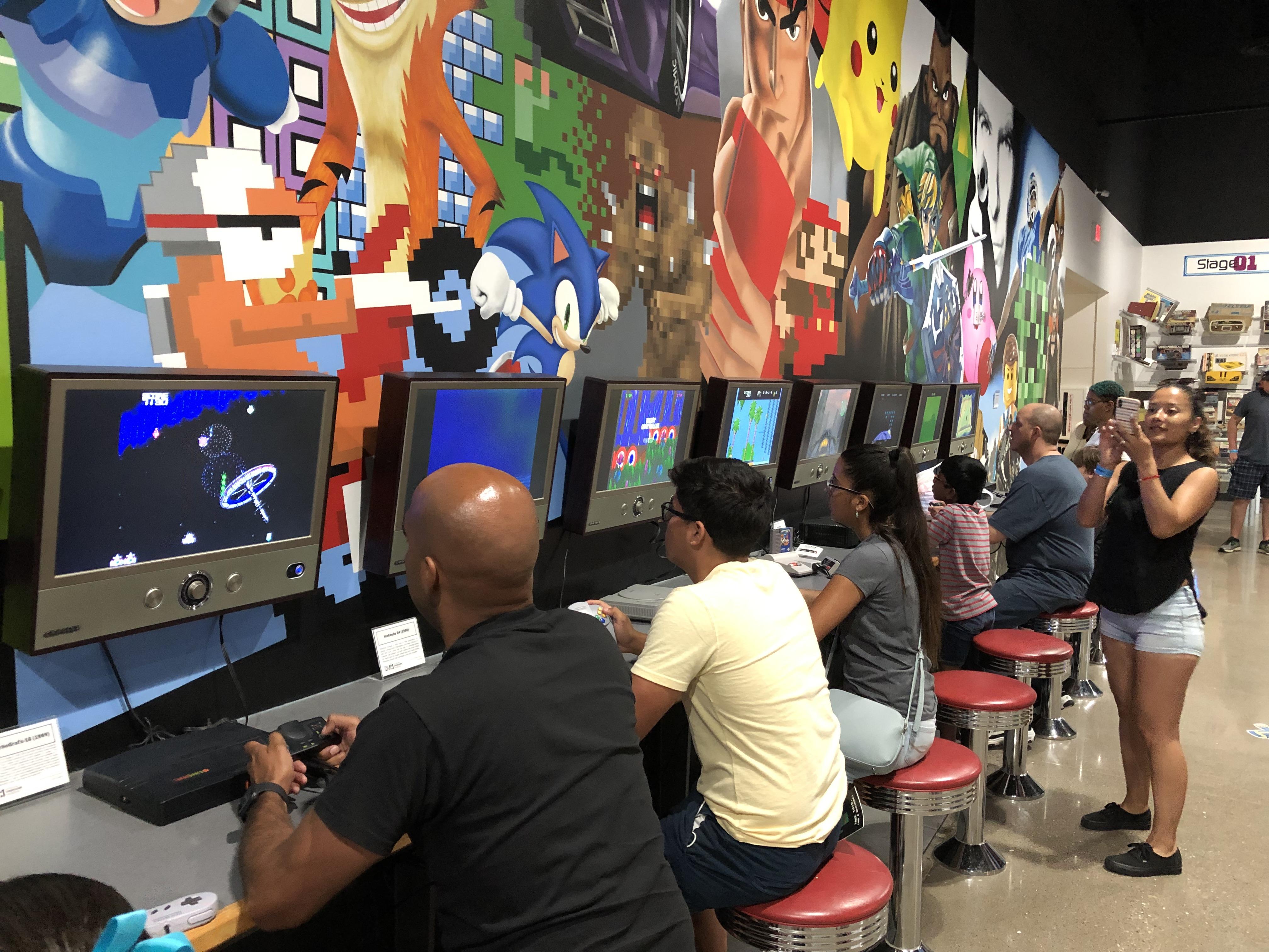 ナショナルビデオゲームミュージアムでゲーム三昧【フリスコ】
