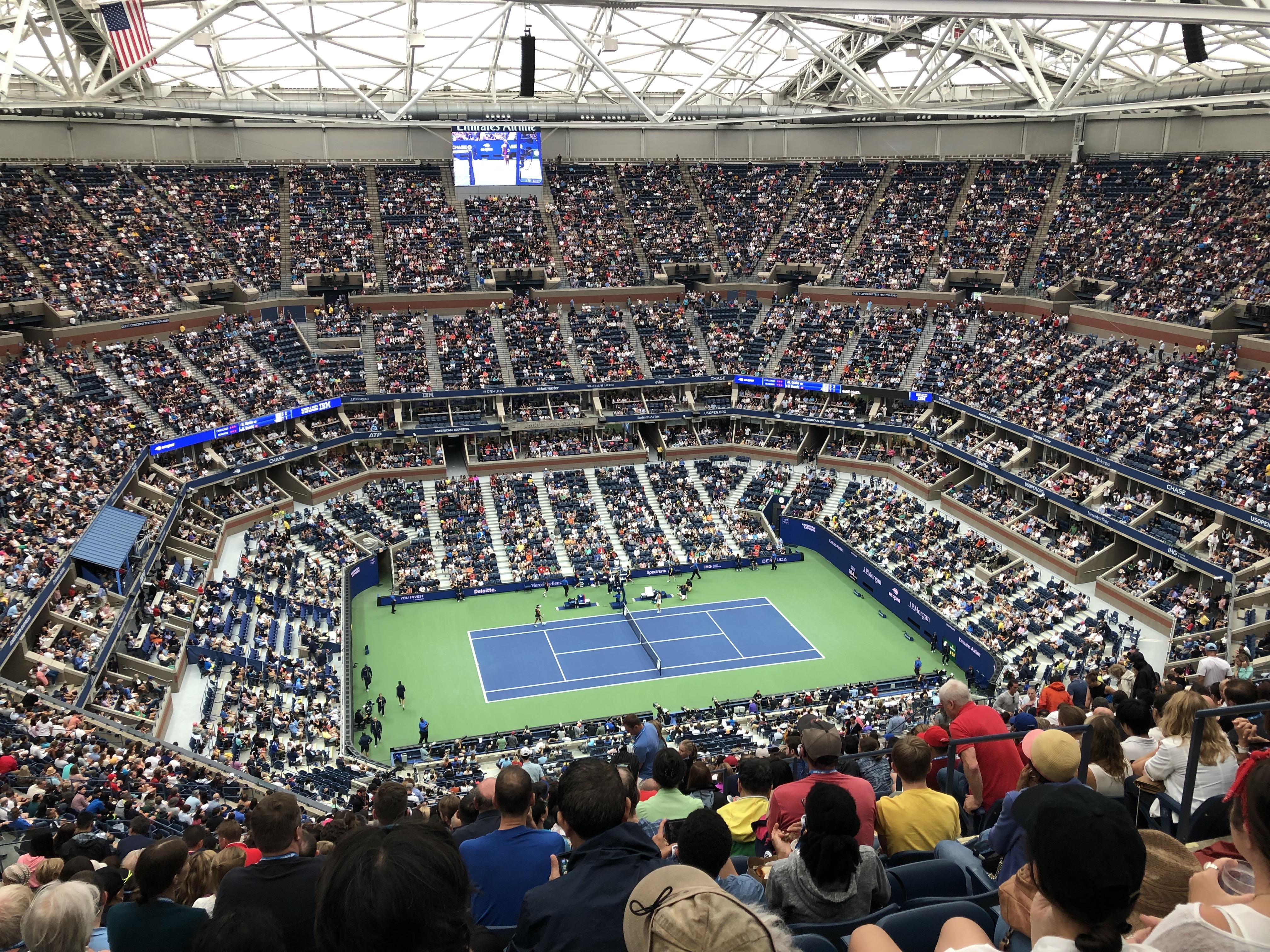 全米オープンテニス2019観戦記