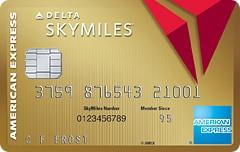 有効期限がないマイルを獲得可能!デルタゴールドクレジットカード【Amex】