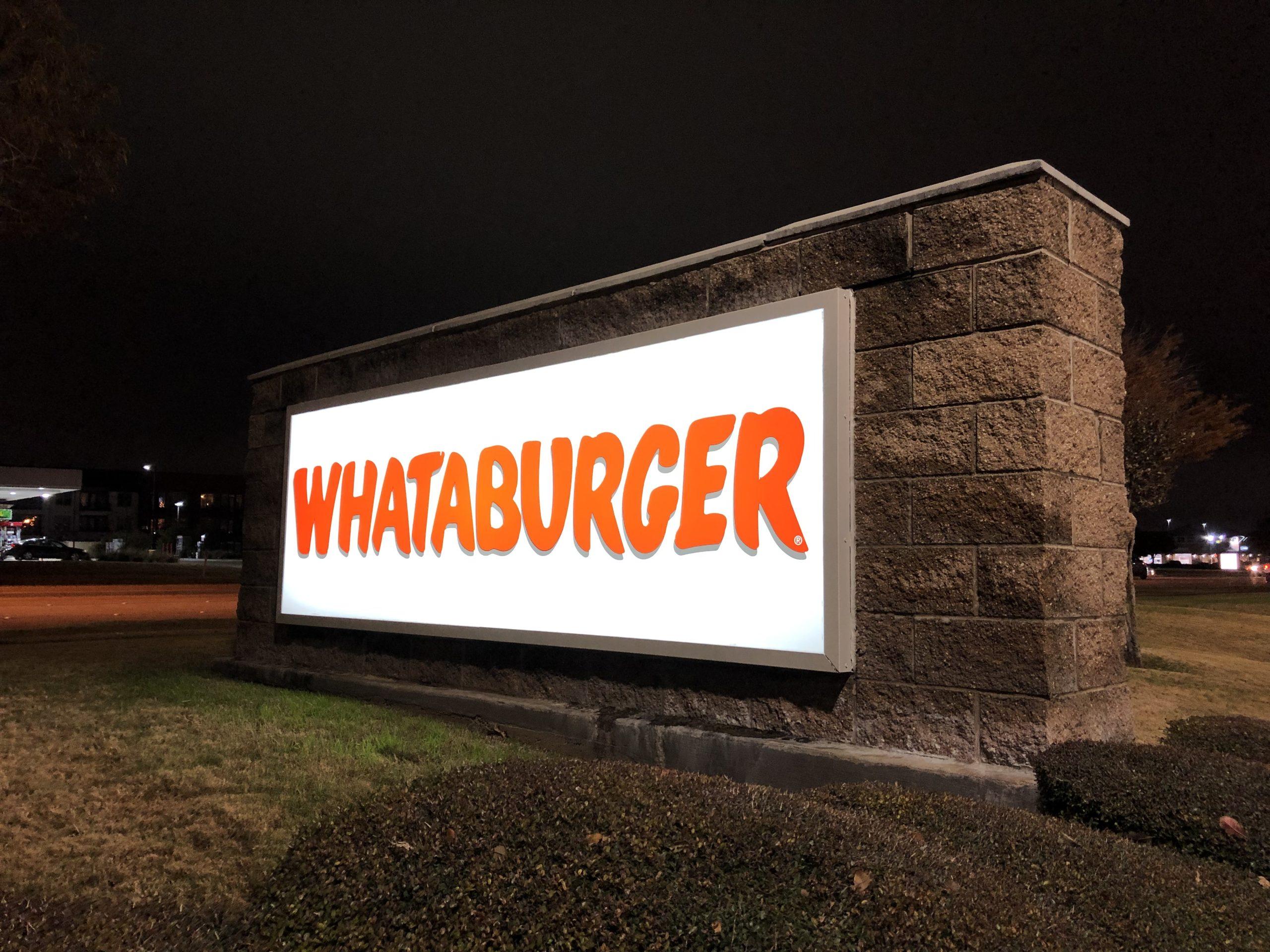 テキサス生まれのバーガーチェーン!Whataburger