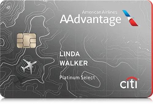 アメリカン航空Citi AAdvantage Platinum Selectクレジットカード