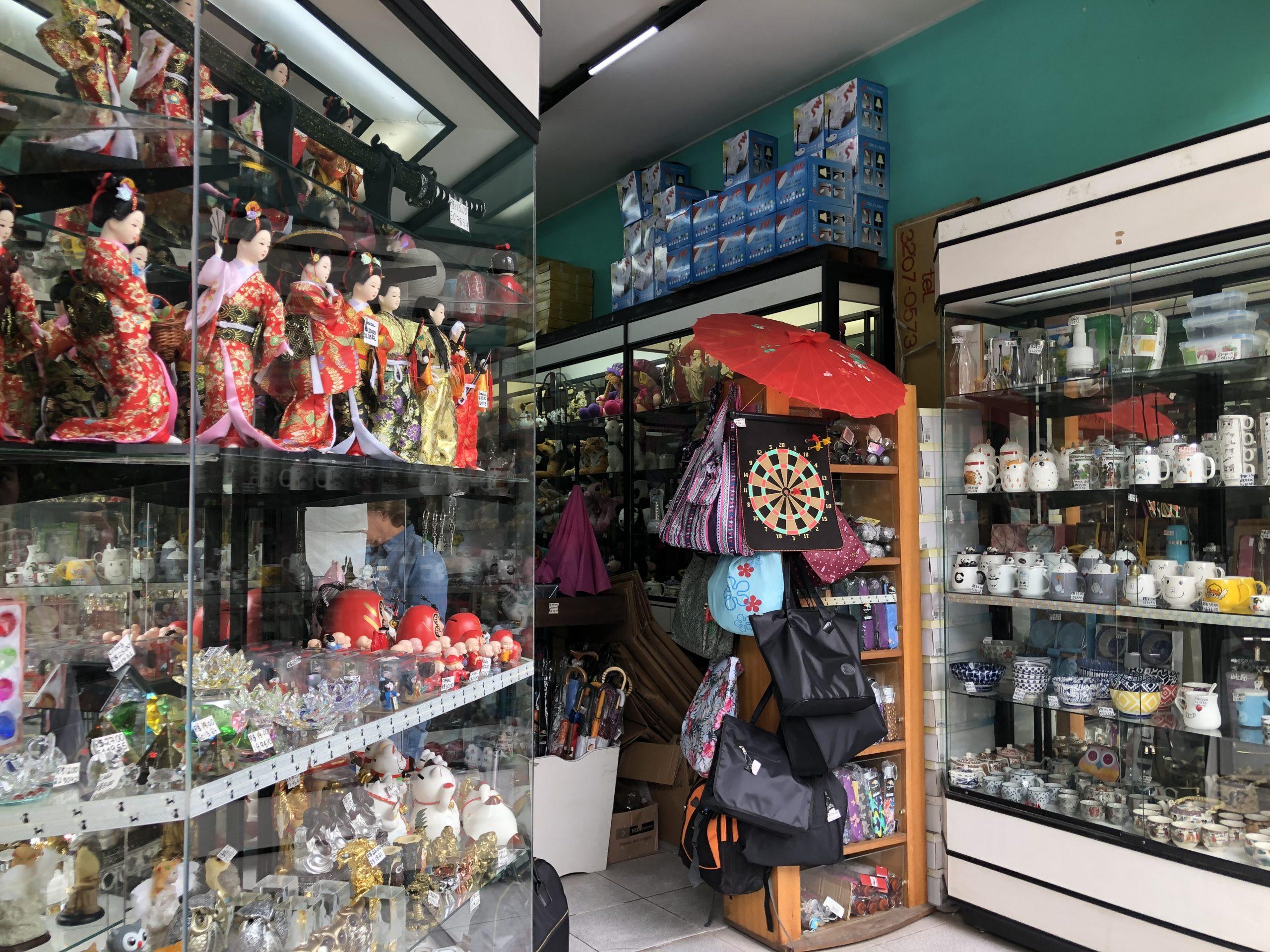 サンパウロの日本人街リベルダーデ