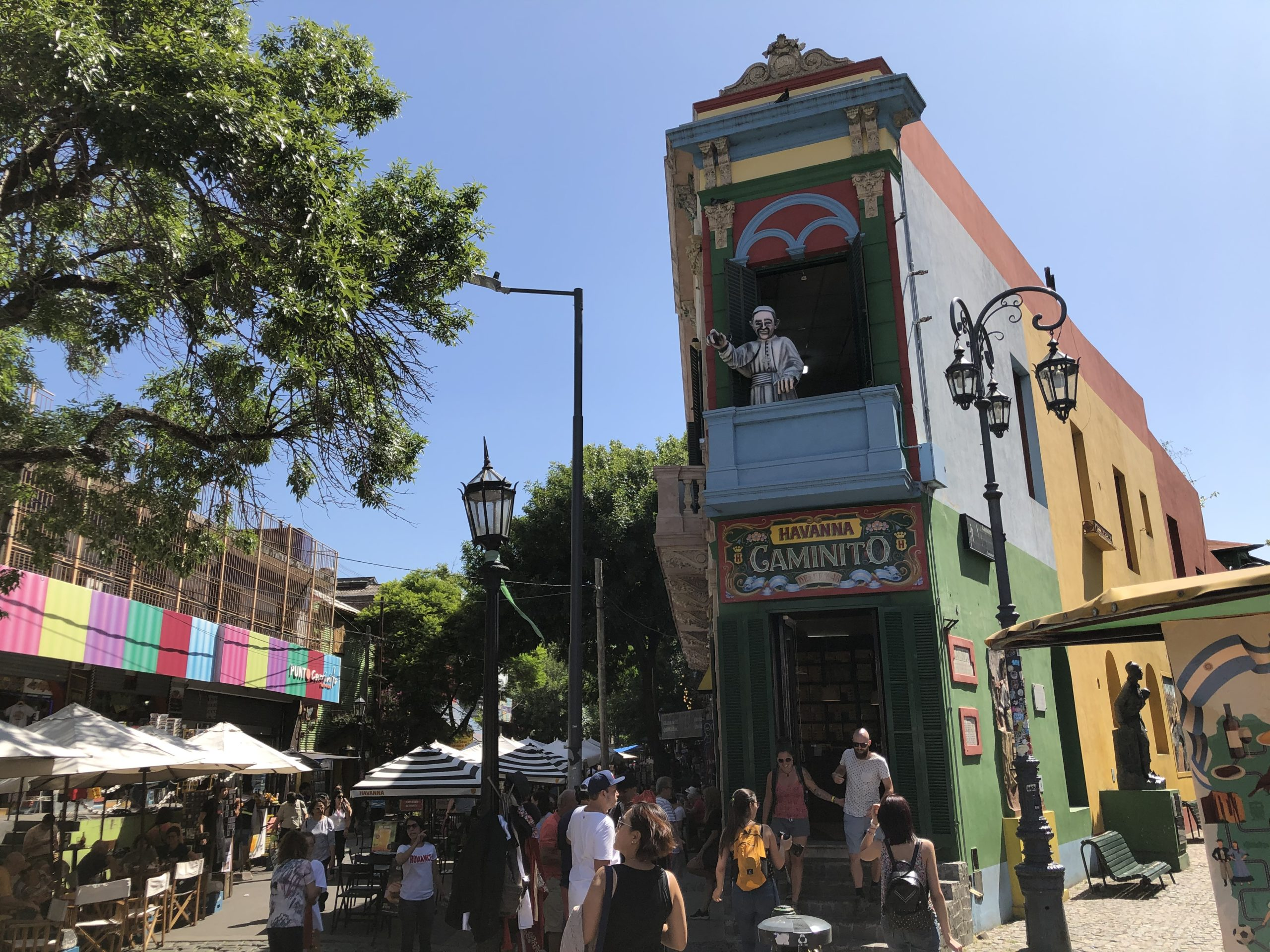 ブエノスアイレス観光~カミニート【カラフルな街】