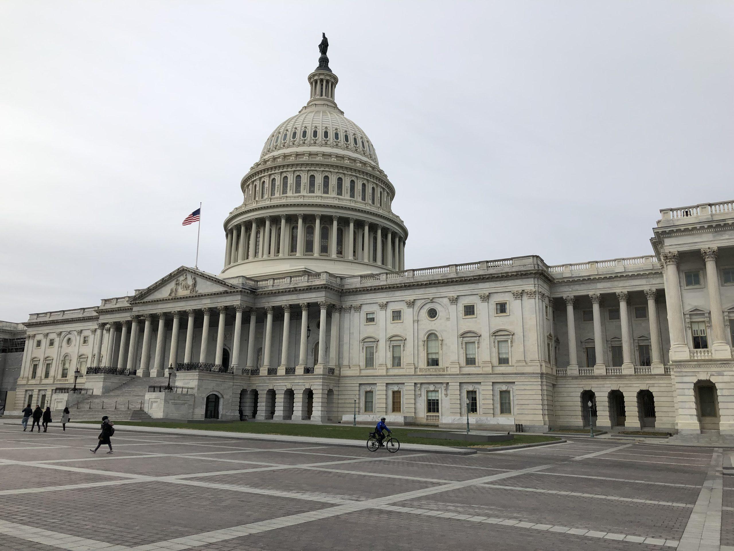【見学は事前予約が必要】アメリカの国会議事堂【ワシントンDC】