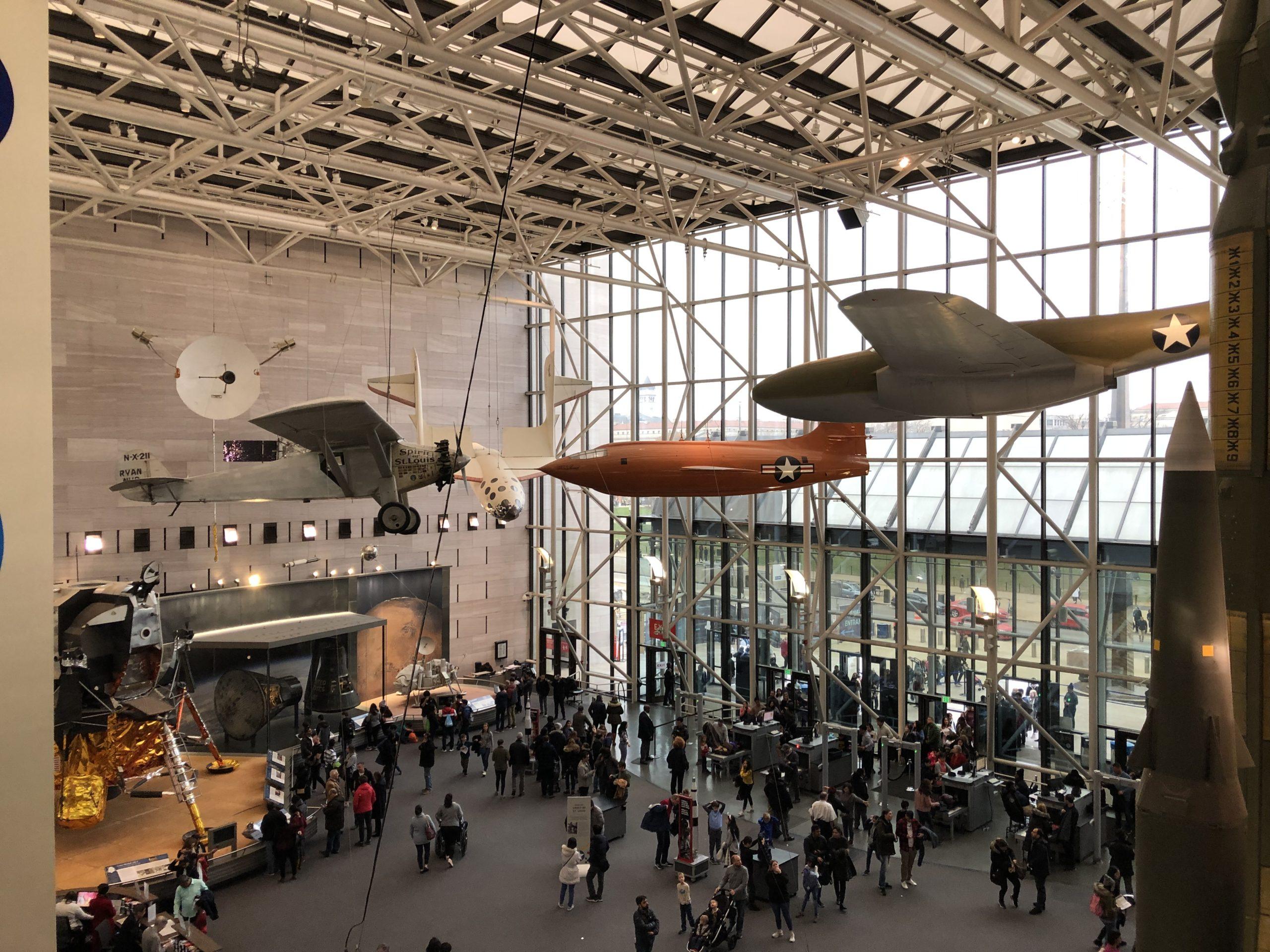 スミソニアン国立航空宇宙博物館【ワシントンDC】