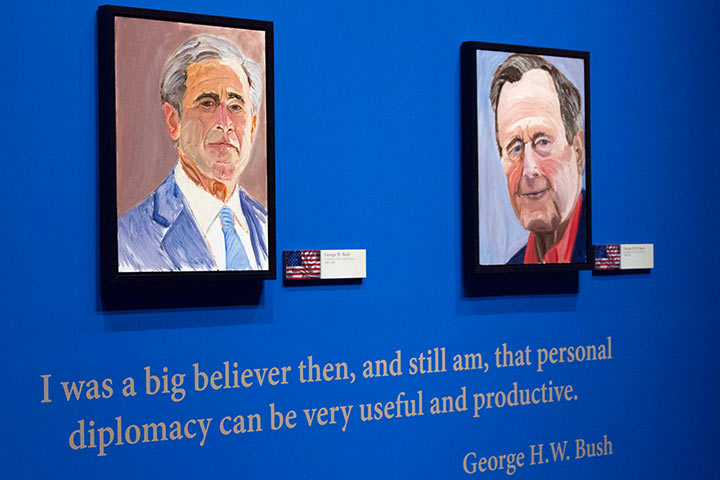 ジョージWブッシュ大統領図書館&博物館