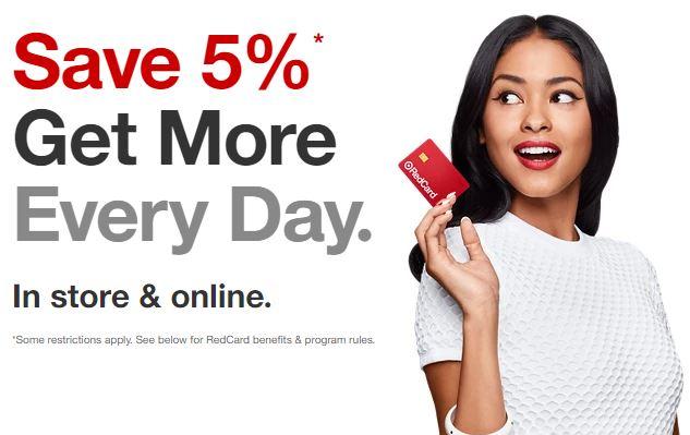 【全て5%オフ】ターゲットRedCardでお得に買い物【デビットカードがおすすめ】