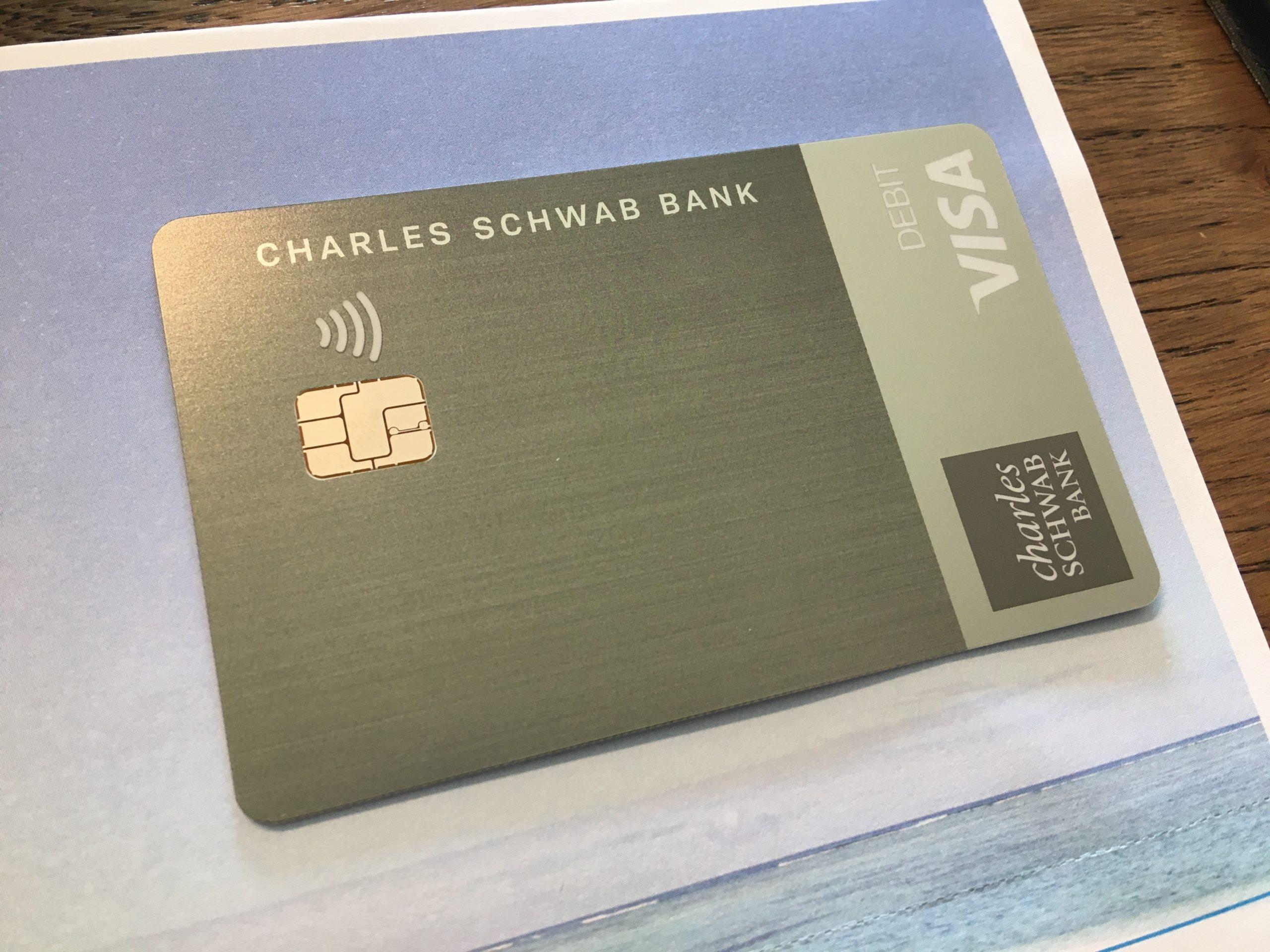 チャールズシュワブ銀行デビットカード