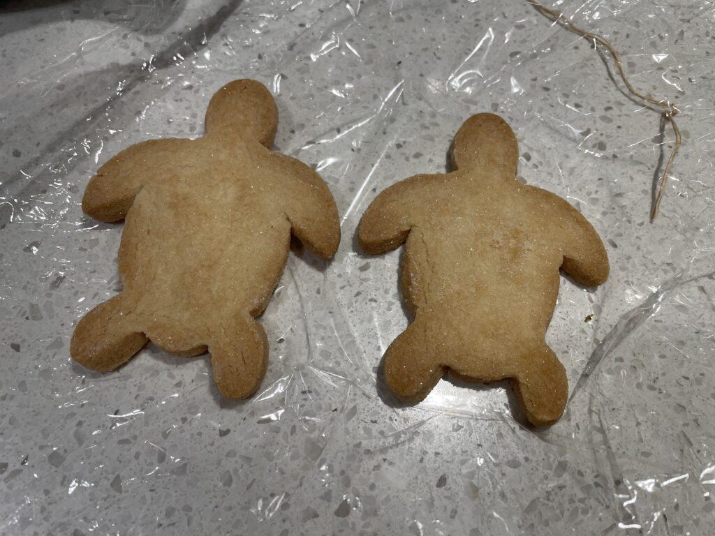 カメのクッキー