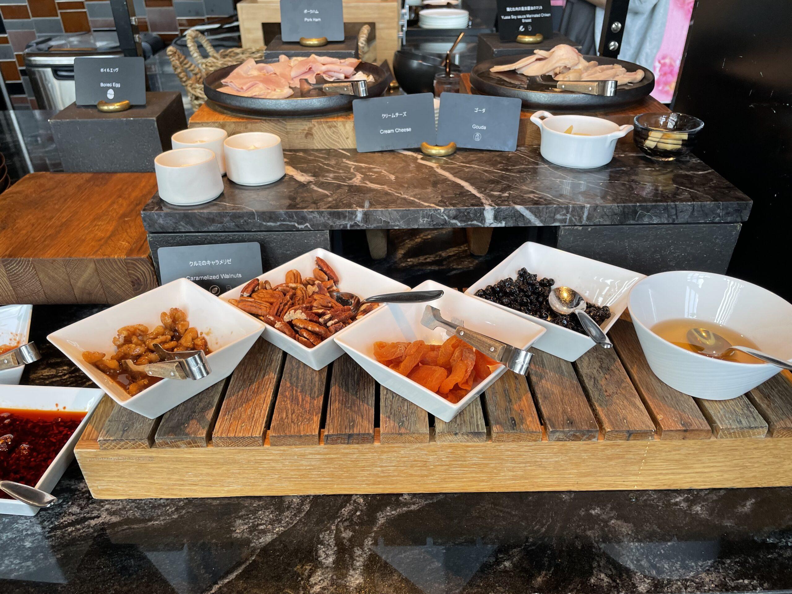 コンラッド大阪の朝食