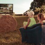 牧場とテレビ
