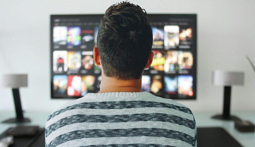 テレビと男性